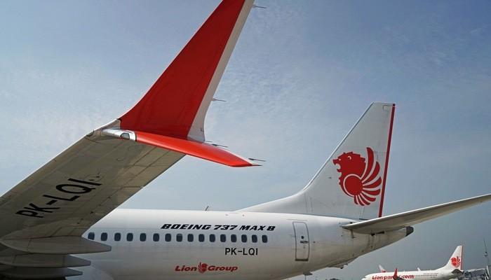Một máy bay Boeing 737 Max 7 của Lion Air - Ảnh: Bloomberg.