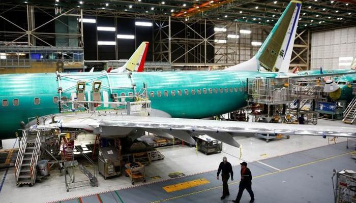 Một máy bay 737 Max đang trong quá trình sản xuất tại nhà máy của Boeing ở Renton, Washington, hôm 27/3/2017 - Ảnh: Reuters/CNBC.