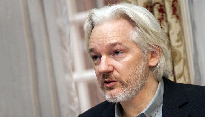 Nhà sáng lập WikiLeaks Julian Assange.