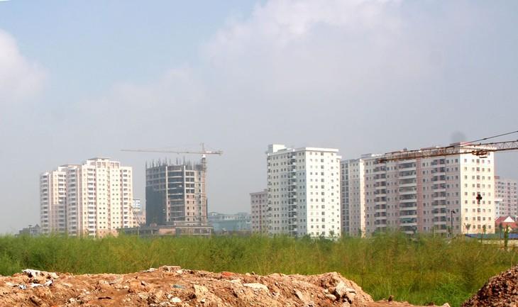 Thị trường có 2 mảng giao dịch tốt là căn hộ giao ngay giá trung bình thấp và đất nền khu đô thị mới. Ảnh: Tiên Giang