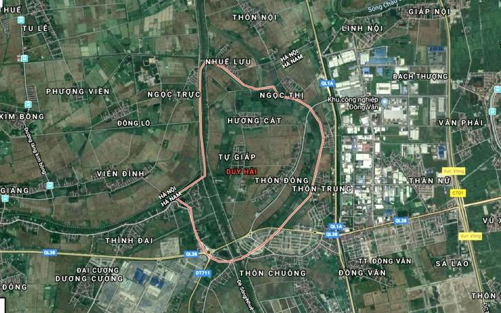Dự kiến quỹ đất thực hiện Dự án Đầu tư xây dựng hạ tầng Khu nhà ở Hano Park 2 là 18,4 ha tại xã Duy Hải, huyện Duy Tiên, tỉnh Hà Nam