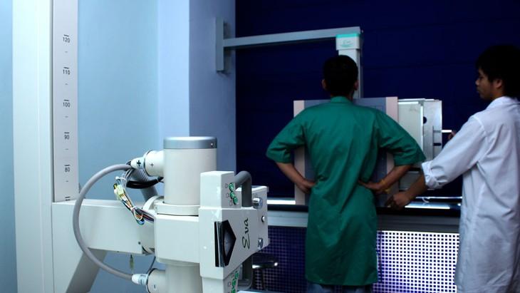 4 gói thầu vừa được công khai kết quả lựa chọn nhà thầu thuộc Dự án Mua sắm trang thiết bị y tế cơ bản cho các cơ sở y tế công lập thuộc Sở Y tế Hải Dương. Ảnh: Lê Tiên