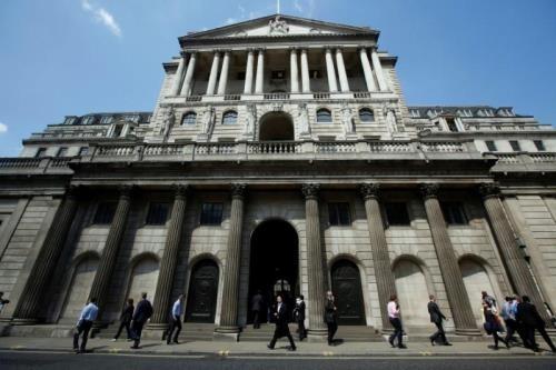 Trụ sở Ngân hàng trung ương Anh (BoE). Ảnh: reuters