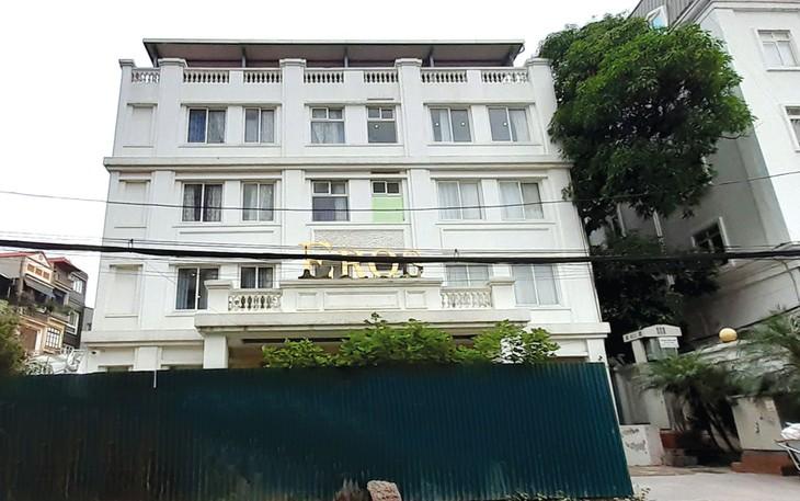 UBND TP. Hà Nội sử dụng quyền thuê đất trả tiền hàng năm để góp vốn liên doanh không đúng quy định tại khu đất 152 Thụy Khuê của Công ty TNHH NN MTV Giầy Thụy Khuê. Ảnh: Trần Tiến