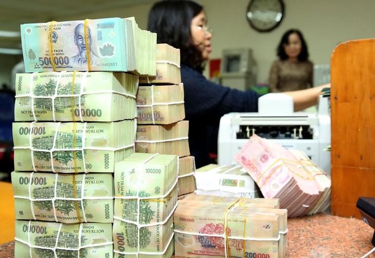 Ngân hàng Nhà nước nêu rõ quan điểm điều hành chính sách tiền tệ thận trọng, linh hoạt nhằm hỗ trợ tăng trưởng kinh tế. Ảnh: Lê Tiên