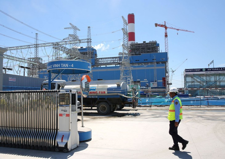 Gói thầu số 11 thuộc Dự án Nhà máy Nhiệt điện Vĩnh Tân 4 mở rộng đạt tỷ lệ tiết kiệm hơn 45% qua đấu thầu rộng rãi quốc tế. Ảnh: Lê Tiên
