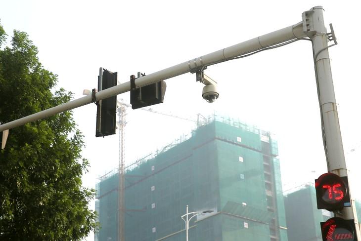 Gói thầu số 3 Hệ thống máy đo tốc độ ghi hình ngày và đêm phục vụ công tác tuần tra giao thông do Công an tỉnh Bình Dương làm chủ đầu tư. Ảnh: Nhã Chi