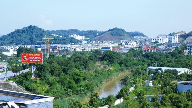 Nhiều nhà đầu tư phát triển bất động sản chuyên nghiệp đã có mặt tại Lào Cai với những dự án nghìn tỷ. Ảnh: Lê Tiên