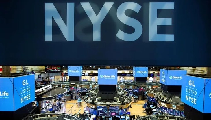 Một góc của Sở Giao dịch chứng khoán New York (NYSE) - Ảnh: Reuters.