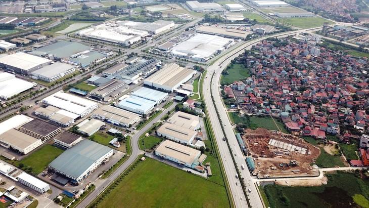 Bất động sản khu công nghiệp được dự báo có nhiều lợi thế phát triển. Ảnh: Lê Tiên