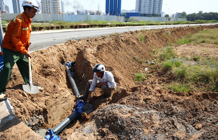 Theo kết quả kiểm toán, một số dự án đầu tư công tại Hà Nội đã phát sinh chi phí nhưng phải dừng, hoãn dẫn đến tình trạng lãng phí vốn, đầu tư không hiệu quả. Ảnh minh họa: Lê Tiên