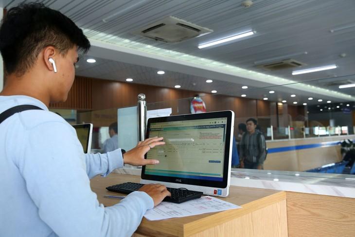 Chia sẻ dữ liệu giữa các cơ quan quản lý nhà nước qua kết nối điện tử là giải pháp hữu hiệu để nâng cao Chỉ số khởi sự kinh doanh. Ảnh: Lê Tiên