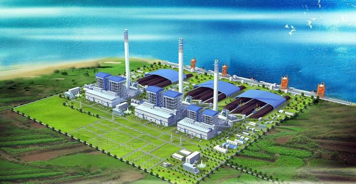 Dự án Nhà máy Nhiệt điện Sông Hậu 1 thuộc Trung tâm Điện lực Sông Hậu có tổng mức đầu tư hơn 43.000 tỷ đồng. Ảnh: st