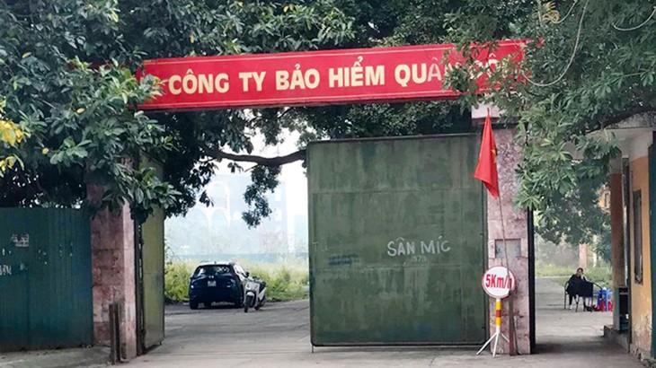 Dự án MIPEC Tố Hữu tọa lạc tại số 54, đường Tố Hữu, quận Nam Từ Liêm, TP. Hà Nội. Ảnh: Hoàng Việt