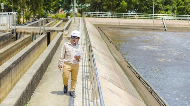 Công ty CP Kỹ thuật SEEN có nhiều ưu thế về năng lực, kinh nghiệm khi tham dự các gói thầu EPC xử lý nước thải. Ảnh: st