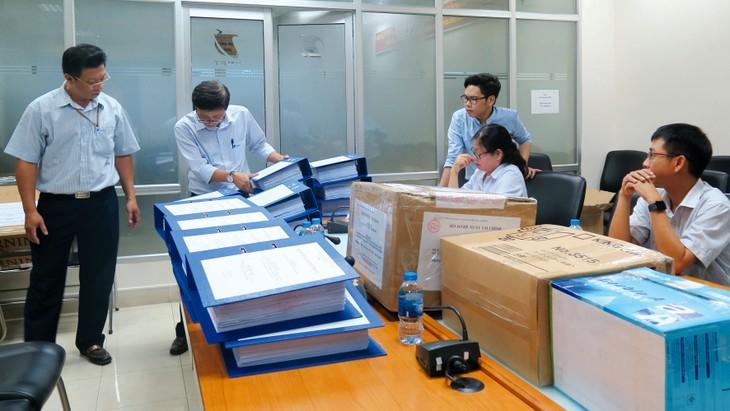 Trung tâm Cung ứng vật tư viễn thông TP.HCM triển khai nhiều gói thầu mua sắm tập trung đạt tỷ lệ tiết kiệm cao. Ảnh: Hải An