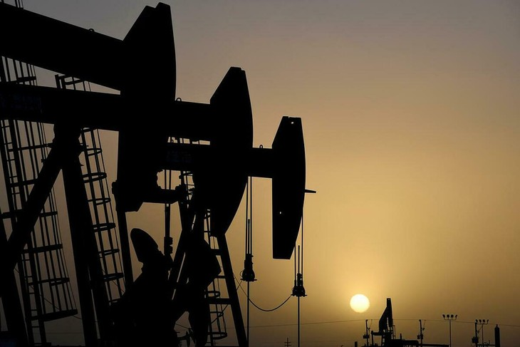 Một cơ sở khai thác dầu tại Texas (Mỹ). Ảnh:Reuters