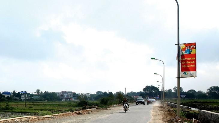 Công ty CP Xây dựng Detech Hà Nội từng trúng thầu thi công công trình chiếu sáng. Ảnh: Lê Tiên