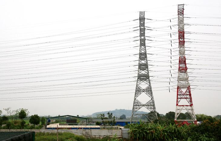 Dự án Đường dây 500 kV mạch 3 có tổng mức đầu tư hơn 11.949 tỷ đồng, dự kiến ban đầu là hoàn thành đưa vào vận hành vào tháng 6/2020. Ảnh: Tiên Giang