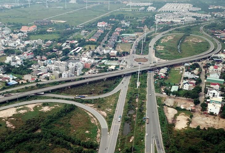 Dự án thành phần 1A xây dựng đoạn Tân Vạn - Nhơn Trạch giai đoạn 1 thuộc đường Vành đai 3 TP.HCM có chiều dài 8,75 km, dự kiến khởi công vào quý III/2021. Ảnh: Song Lê