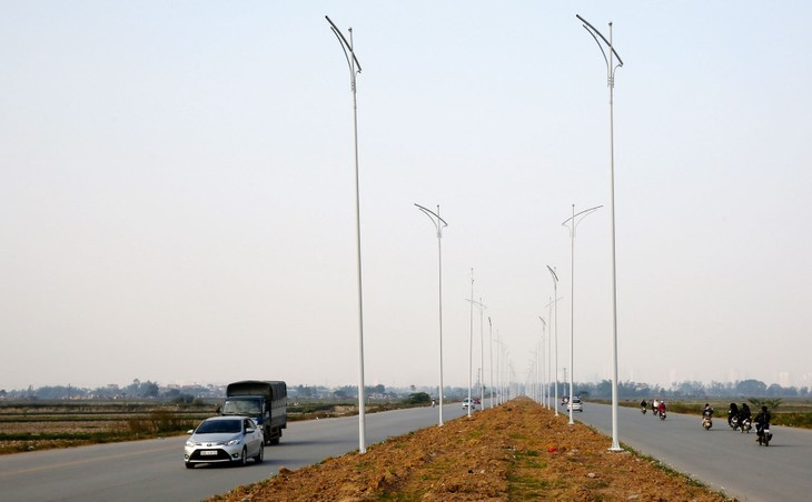 Công ty CP Đầu tư và Xây dựng Century Việt Nam phản ánh hoạt động đấu thầu các gói thầu chiếu sáng tại huyện Hoài Đức không minh bạch. Ảnh: Tiên Giang
