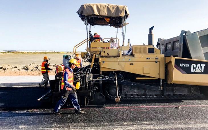 Tổng mức đầu tư Dự án Đầu tư xây dựng công trình đường Phước Hòa - Cái Mép được điều chỉnh từ 1.243 tỷ đồng xuống còn hơn 948 tỷ đồng. Ảnh: Trà Ngân