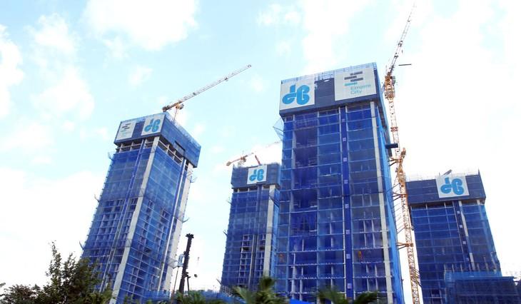 Sản lượng xây lắp của Công ty CP Tập đoàn xây dựng Hòa Bình sụt giảm mạnh trong quý I/2020 do Covid-19. Ảnh: Lê Tiên