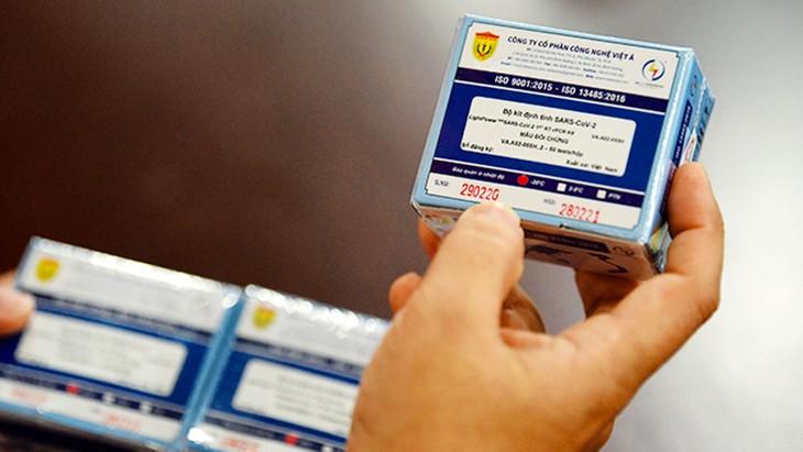 Sinh phẩm chẩn đoán invitro xét nghiệm virus SARS-CoV-2 của Công ty CP Công nghệ Việt Á được cấp số đăng ký tạm thời để sử dụng trong xét nghiệm sàng lọc