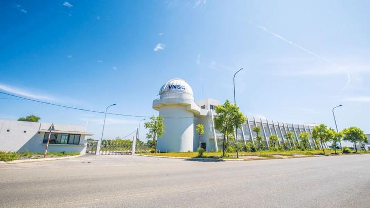 Trung tâm Vũ trụ Việt Nam tại Khu công nghệ cao Hòa Lạc (huyện Thạch Thất, Hà Nội)