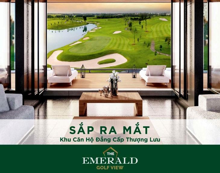 Dự án The Emerald Golf View (Bình Dương) do Công ty TNHH Đầu tư Phát triển Đô thị mới Thủ Thiêm phân phối ra mắt trong tháng 5/2020