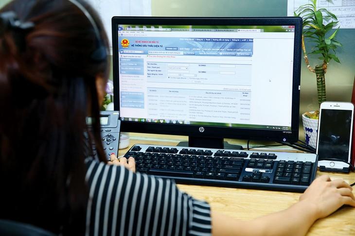 Hệ thống mạng đấu thầu quốc gia vừa bổ sung tính năng kiểm tra thông báo mời thầu nhằm hạn chế việc không tuân thủ quy định tại Thông tư số 11/2019/TT-BKHĐT. Ảnh: Nhã Chi