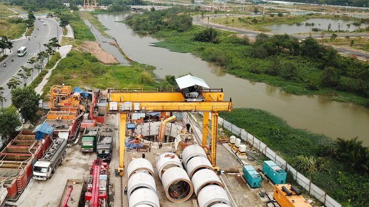 Theo kế hoạch giai đoạn 2016 - 2020, TP.HCM phải hoàn thành đầu tư 7 nhà máy xử lý nước thải. Ảnh: Lê Tiên