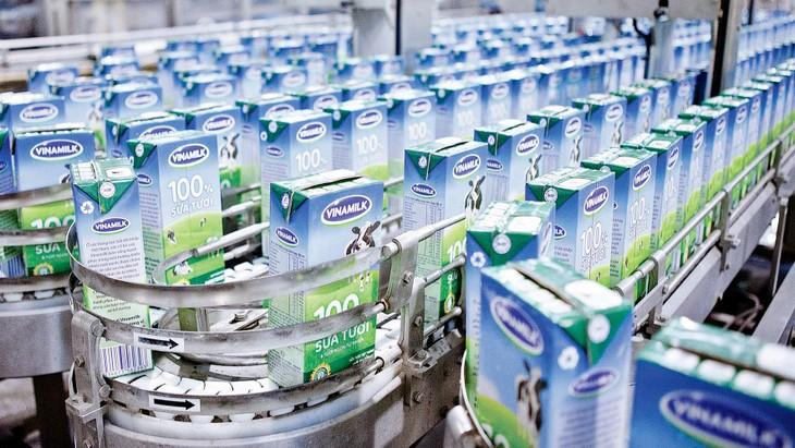 Trong năm 2019, Vinamilk được công bố trúng 7 gói thầu sữa học đường tại các địa phương: Bình Thuận, Tây Ninh, Vĩnh Long, Ninh Thuận, TP.HCM, Đà Nẵng và Bình Định. Ảnh: Tường Lâm