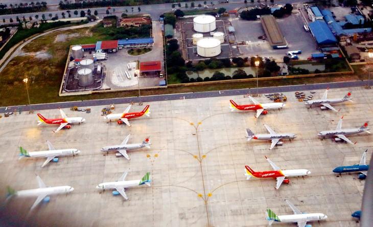 Mức phí nhượng quyền khai thác cảng hàng không, sân bay được đề xuất giảm 10% so với hiện hành. Ảnh: Huy Hùng
