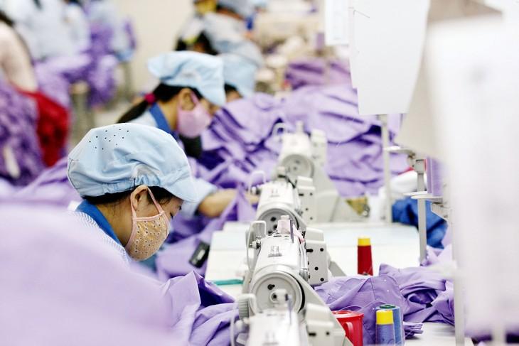 Kim ngạch xuất khẩu hàng dệt may của Việt Nam vào EU được kỳ vọng sẽ tăng nhanh với mức khoảng 67% đến năm 2025 so với kịch bản không có Hiệp định EVFTA. Ảnh: Tường Lâm