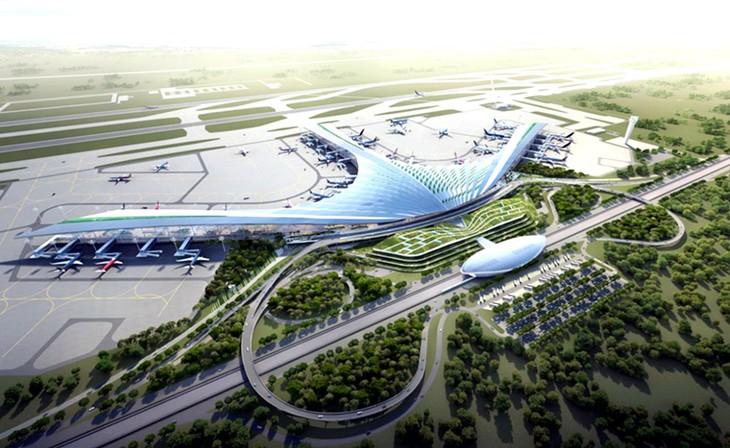 Bổ sung quy định về phạt chậm tiến độ tại hồ sơ mời thầu các gói thầu thuộc Dự án Thu hồi đất, bồi thường, hỗ trợ, tái định cư Sân bay Long Thành. Ảnh: St