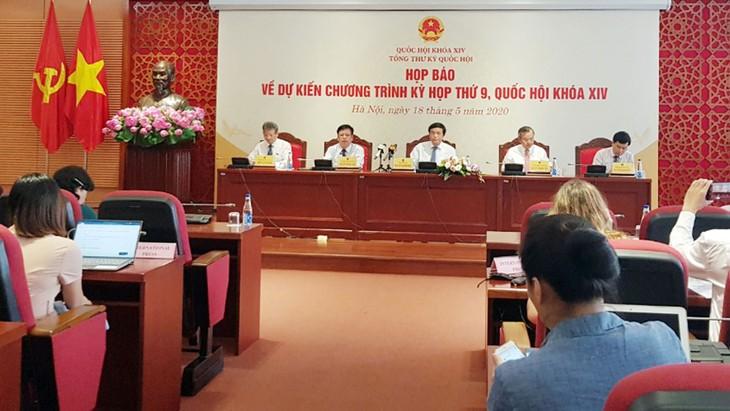 Luật Đầu tư theo phương thức đối tác công tư (PPP) là một trong những dự án luật dự kiến được xem xét, thông qua tại Kỳ họp thứ 9 Quốc hội khóa XIV. Ảnh: Cao Dung