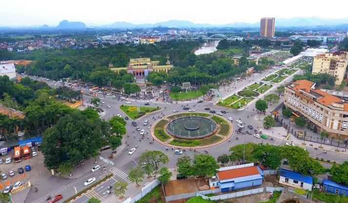 Các gói thầu xây lắp tuyến đường Huống Thượng - Chùa Hang (TP. Thái Nguyên) đều có thời gian thực hiện hợp đồng là 24 tháng. Ảnh: Mạnh Hùng