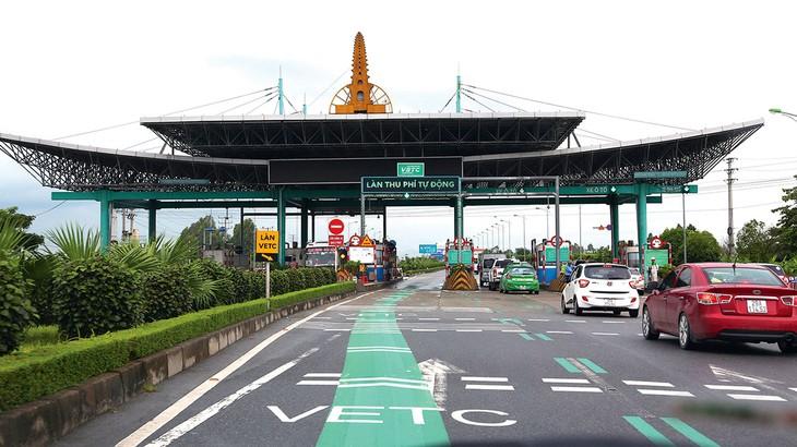 Dự án Thu phí dịch vụ sử dụng đường bộ tự động không dừng giai đoạn 2 được kỳ vọng sẽ hoàn thành trong năm 2020. Ảnh: Lê Tiên