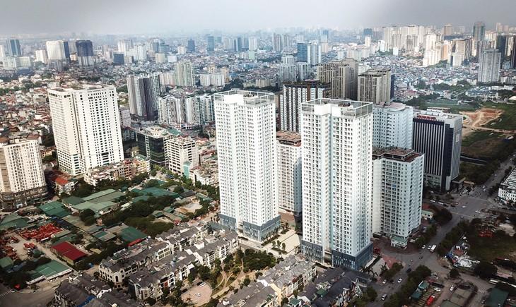 Chính phủ đặt mục tiêu đến năm 2020 xây dựng 12,5 triệu m2 sàn nhà ở xã hội, nhưng hết năm 2019 mới đạt khoảng 34,3%. Ảnh: Lê Tiên