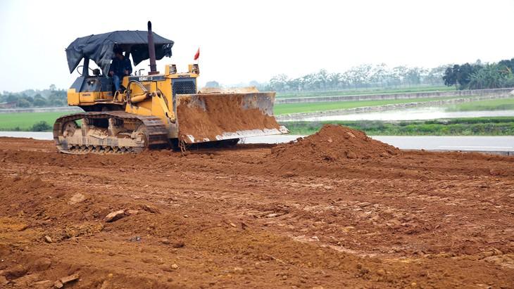 Gói thầu số 4 Thi công xây dựng công trình và bảo hiểm xây dựng công trình có giá hơn 425 tỷ đồng. Ảnh: Phú An