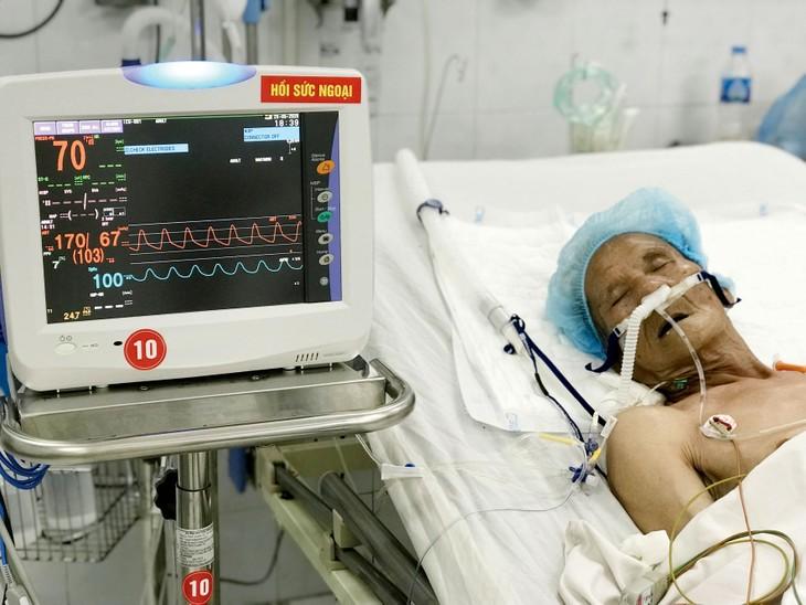 Cùng thời điểm nhưng đơn giá mua máy thở chức năng cao model Carescape R860 tại các bệnh viện khác nhau có sự chênh lệch khá lớn. Ảnh: Nhã Chi