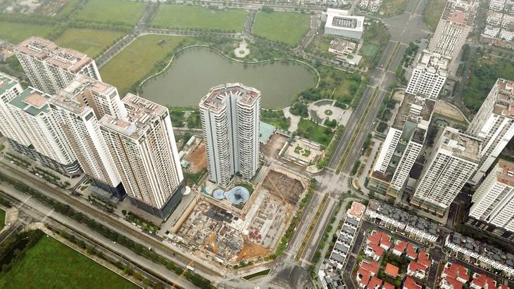 Thị trường bất động sản được nhận định phục hồi vào quý cuối cùng của năm 2020 sẽ vực dậy ngành vật liệu xây dựng. Ảnh: Lê Tiên