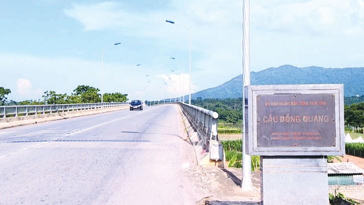 Tuyến đường nối từ cầu Đồng Quang đến Quốc lộ 32 có tổng chiều dài 24,695 km, với tổng mức đầu tư 1.284,696 tỷ đồng