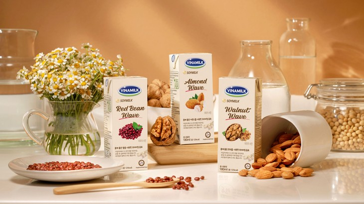 Không chỉ chú trọng về chất lượng sản phẩm, hình ảnh thương hiệu cũng được Vinamilk đầu tư để chinh phục thị trường Hàn Quốc