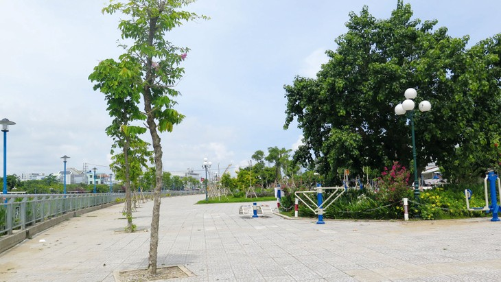 Các công trình kè do Thanh Tuấn triển khai góp phần chỉnh trang bộ mặt đô thị của TP. Rạch Giá