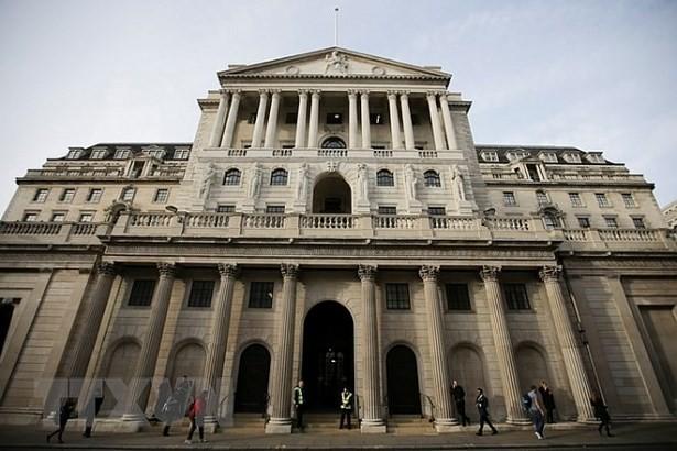 Trụ sở BoE tại thủ đô London. Ảnh: AFP/TTXVN