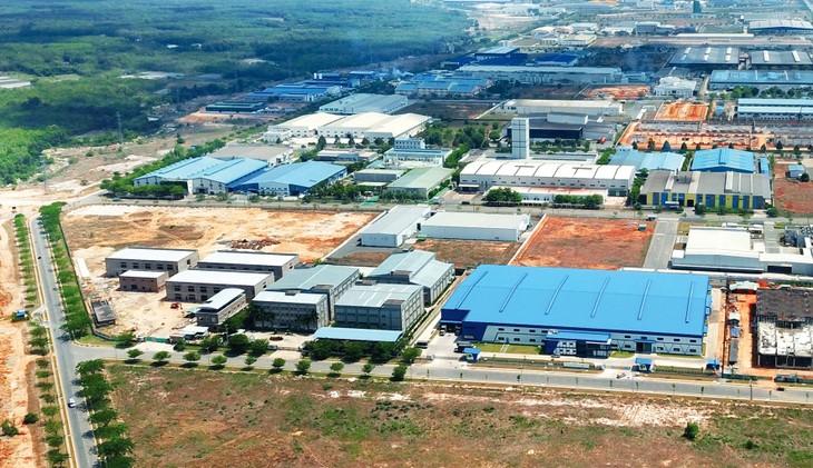 Thái Nguyên đề nghị Chính phủ quan tâm mở rộng Khu công nghiệp Yên Bình và Khu công nghiệp Sông Công 2. Ảnh: Lê Tiên