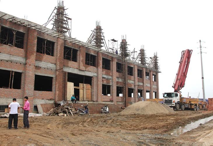 Tại Gói thầu Xây lắp và thiết bị thuộc Dự án Trường Trung học cơ sở Vũ Kiệt, huyện Thuận Thành, tỉnh Bắc Ninh, VINACCO không đáp ứng yêu cầu về hợp đồng tương tự. Ảnh minh họa: Tiên Giang
