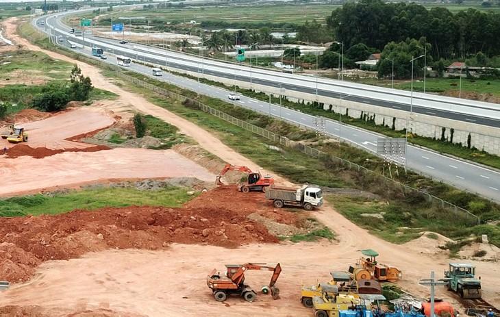 Dự án cao tốc Bắc - Nam phía Đông giải ngân cơ bản đáp ứng kế hoạch